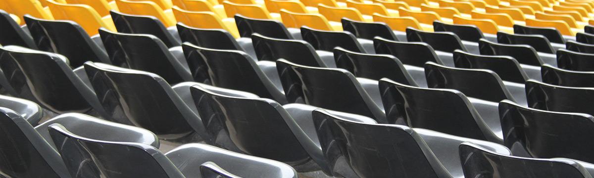 Sitzschalen im Westfalenstadion